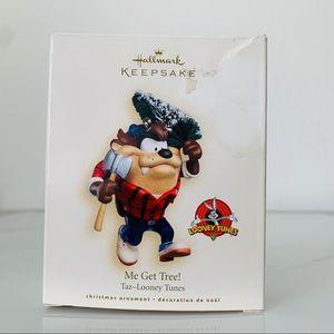 NEW 2007 Hallmark Looney Tunes Taz Ornament